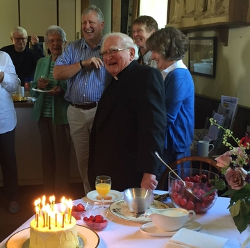 Keith Withington 60 years since Ordination