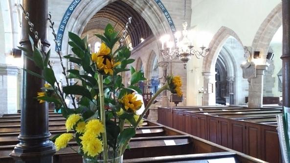 Decorating Church For Pentecost Events Hanbury Church