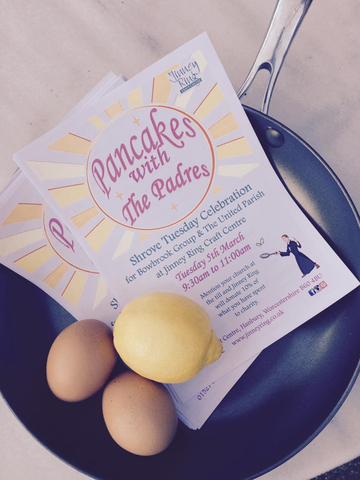 SHROVE TUESDAY - Pancakes with the Paders