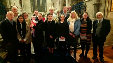 Confirmation Service at Hanbury